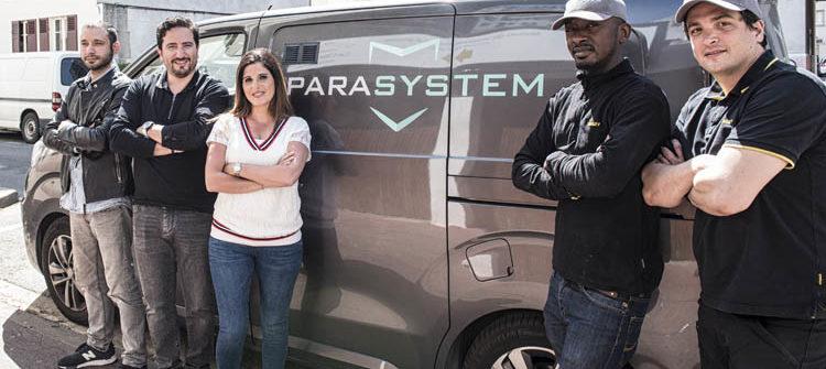Equipe Parasystem Paris